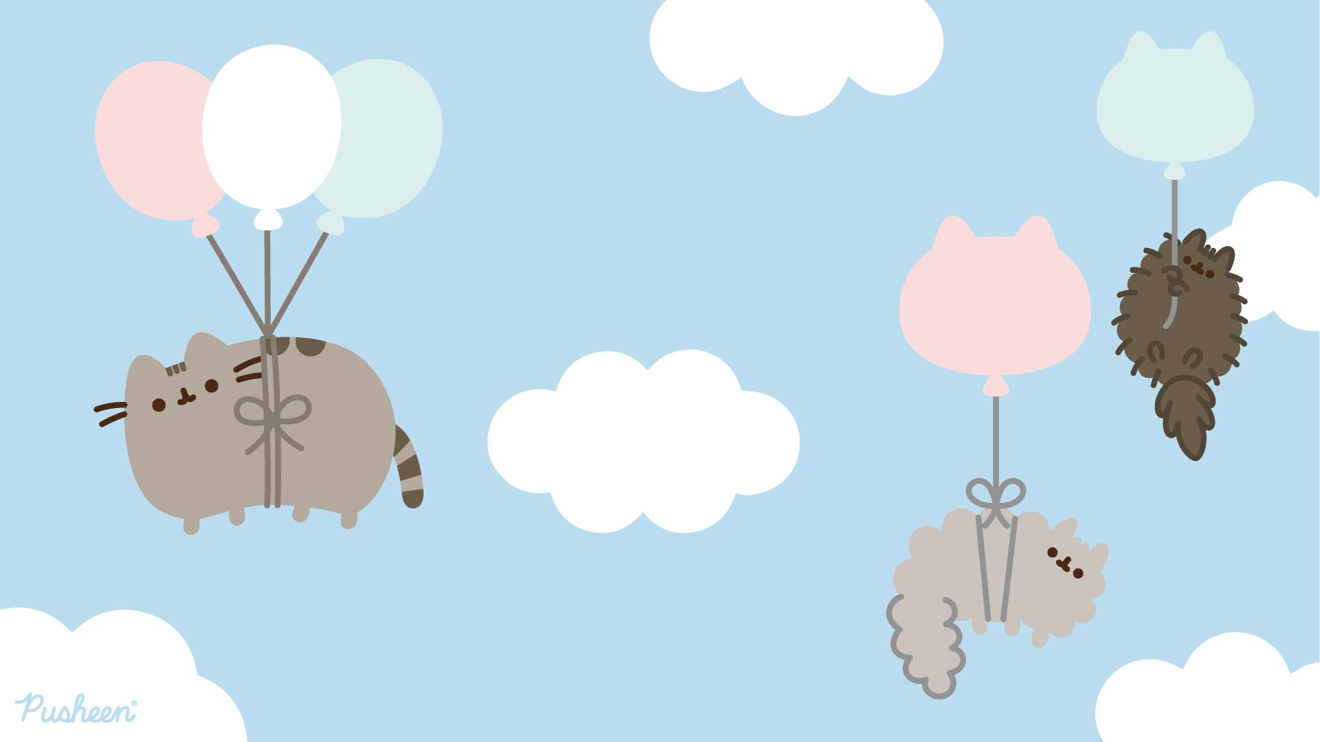 Pusheen_Zoom_Background_clouds_2020
